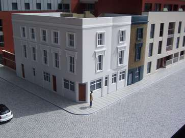 Architectural model of Westbourne Place for Redrow