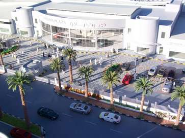 Architectural model of Toyota Plaza in Bahrain made for Toyota Lexus