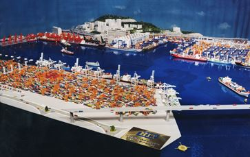 Hong Kong Container Port image 1