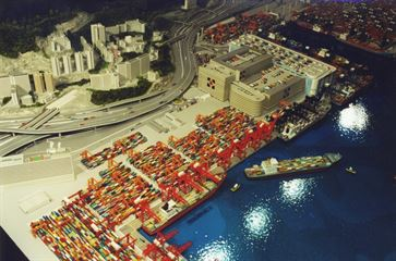 Hong Kong Container Port image 5