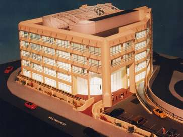 Architectural model of Salamanca Building for News Of The World