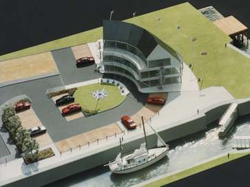 Architectural model of commercial project for Associated British Ports