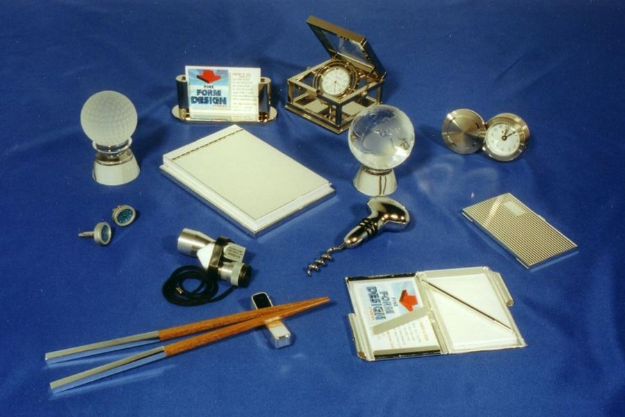 A selection of small corporate gifts