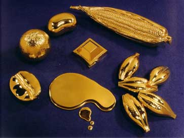 A selection of 18ct gold models