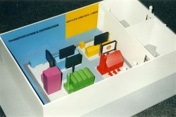 Shell UK Exhibition Stand Model image 3