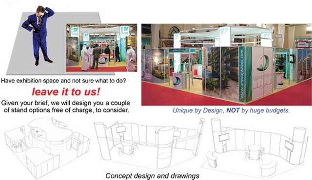 Exhibition Stand Design Drawings : Exhibition stand design build
