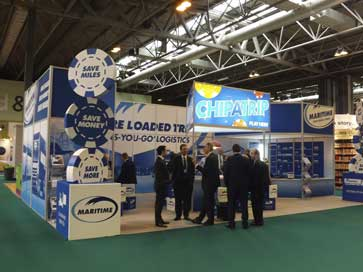 Maritime exhiition stand at the NEC in 2014