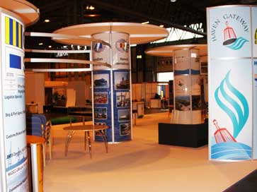Multimodal Exhibition stand for Haven Gateway