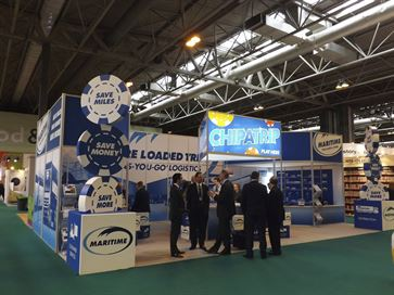 Maritime exhibition stand - NEC 2014 image 2