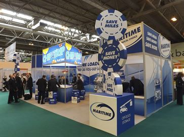 Maritime exhibition stand - NEC 2014 image 3