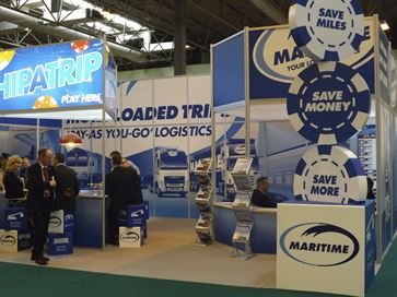 Maritime exhibition stand - NEC 2014 image 4
