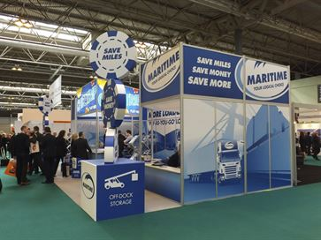 Maritime exhibition stand - NEC 2014 image 6