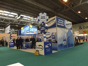Maritime exhibition stand - NEC 2014 image 10