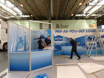 Maritime exhibition stand - NEC 2014 image 15