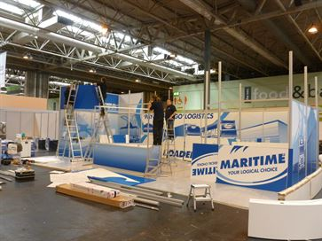 Maritime exhibition stand - NEC 2014 image 16