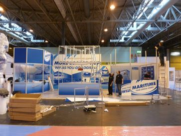 Maritime exhibition stand - NEC 2014 image 19