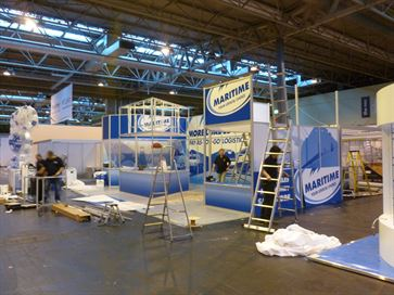 Maritime exhibition stand - NEC 2014 image 20