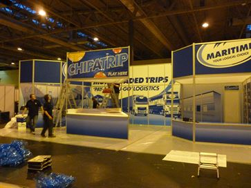 Maritime exhibition stand - NEC 2014 image 21