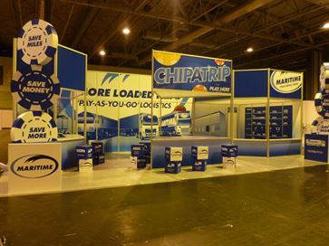 Maritime exhibition stand - NEC 2014 image 25