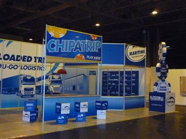 Maritime exhibition stand - NEC 2014 image 26