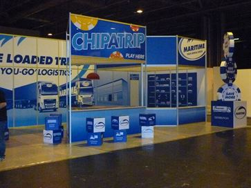 Maritime exhibition stand - NEC 2014 image 27