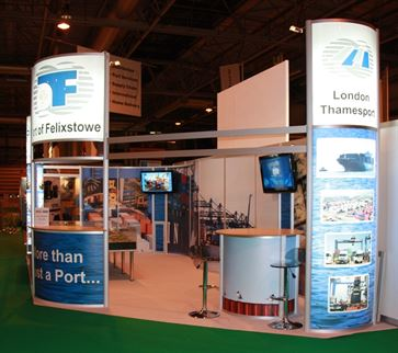 Multimodal Exhibition Stand for Hutchinson Ports (UK)  image 6