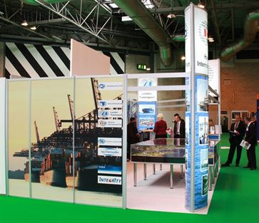 Multimodal Exhibition Stand for Hutchinson Ports (UK)  image 8