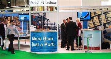 Multimodal Exhibition Stand for Hutchinson Ports (UK)  image 9