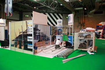 Multimodal Exhibition Stand for Hutchinson Ports (UK)  image 14