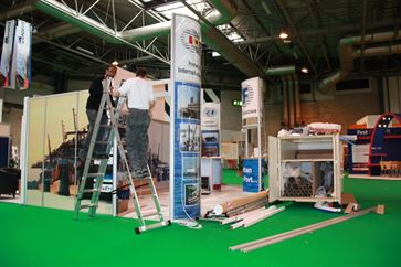 Multimodal Exhibition Stand for Hutchinson Ports (UK)  image 15