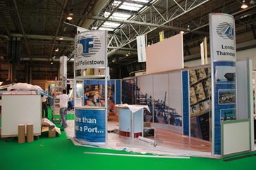 Multimodal Exhibition Stand for Hutchinson Ports (UK)  image 16