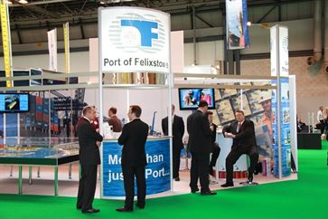 Multimodal Exhibition Stand for Hutchinson Ports (UK)  image 19