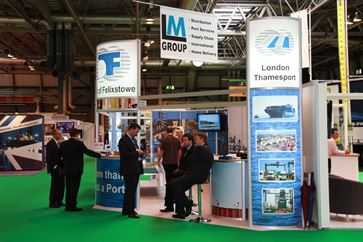 Multimodal Exhibition Stand for Hutchinson Ports (UK)  image 20