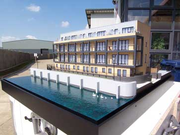 1:30 architectural model of Town House in London for Residential Land