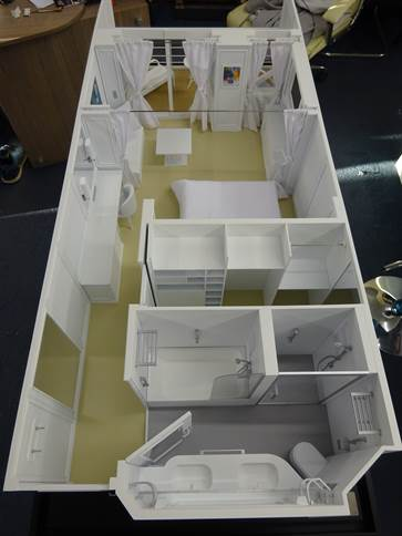 Deluxe Cabin - Regent Cruise - 1:20 scale image 29
